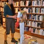 Performance artistique bibliothèque de Langon (1)