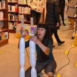 Performance artistique bibliothèque de Langon (12)