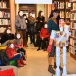 Performance artistique bibliothèque de Langon (4)