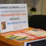 Performance artistique bibliothèque de Langon (5)