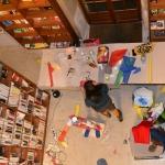 Performance artistique bibliothèque de Langon (7)