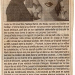 Journal Le Republicain novembre 2003